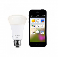 Управляемая лампа Philips Hue Lux Connected Bulb, белая, фото 2