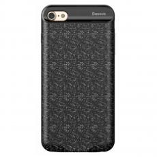 Чехол-аккумулятор Baseus Plaid Backpack Power Bank Case 7300 мАч для iPhone 6 и 6s Plus, черный - фото