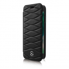 Чехол-книжка Mercedes Pattern lll для iPhone 7 Plus/8 Plus, чёрный, фото 1