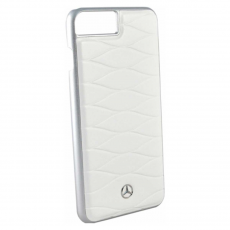 Чехол кожаный Mercedes Pattern lll для iPhone 7 Plus/8 Plus, белый, фото 2