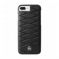 Чехол кожаный Mercedes Pattern lll для iPhone 7 Plus/8 Plus, чёрный, фото 1