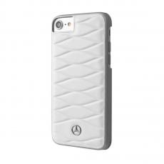 Чехол кожаный Mercedes Pattern lll для iPhone 7 Plus/8 Plus, белый, фото 1