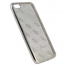 Чехол Guess 4G для iPhone 7 Plus, серебристый, фото 2