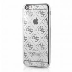 Чехол Guess 4G для iPhone 7 Plus, серебристый, фото 3