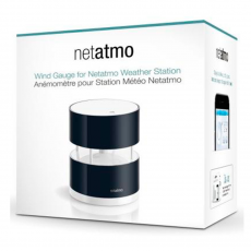 Анемометр для метеостанции Netatmo Wind Gauge, черный, фото 1