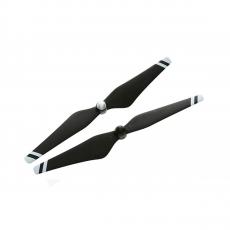 Набор пропеллеров для Phantom 3 9450 Carbon Fiber, чёрные с белыми полосками-фото