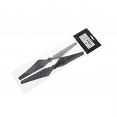 Набор пропеллеров для Phantom 3 9450 Carbon Fiber черные, белые полосы, фото 2