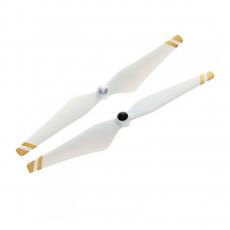 Набор пропеллеров DJI 9450, белые с золотыми полосками-фото