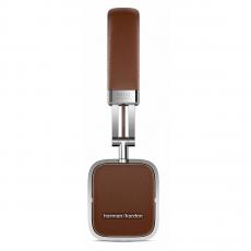 Большие накладные наушники Harman Kardon SOHO BT, с микрофоном, коричневые, фото 2