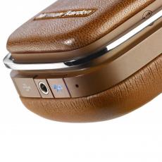 Большие накладные наушники Harman Kardon SOHO BT, с микрофоном, коричневые, фото 3