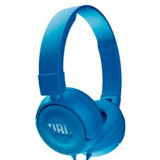 Накладные наушники JBL Е450, синие-фото