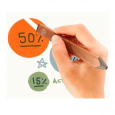 Стилус FiftyThree Pencil для iPad, коричневый, фото 1