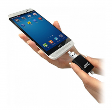Флеш-накопитель PhotoFast i-Flashdrive EVO Plus, 128 ГБ, черный, фото 2