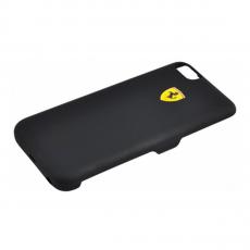 Чехол-аккумулятор Ferrari Powercase Hard Rubber 2800mAh для iPhone 7 и 8, чёрный, фото 1