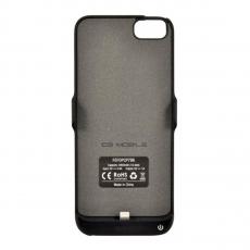 Чехол-аккумулятор Ferrari Powercase Hard Rubber 2800mAh для iPhone 7 и 8, чёрный, фото 2