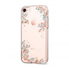Чехол SGP Liquid Crystal для iPhone 7/8, цветы, фото 1