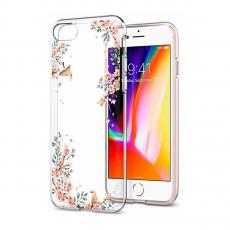 Чехол SGP Liquid Crystal для iPhone 7/8, цветы, фото 2