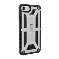 Чехол Urban Armor Monarch для iPhone 7 и 8, серебристый-чёрный, фото 1