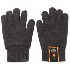 Сенсорные перчатки со встроенной гарнитурой DressCote Talkers Grey