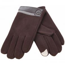 Кашемировые перчатки для дисплеев iCasemore Gloves (коричневый), фото 1