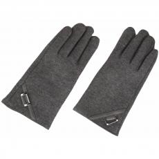 Кашемировые перчатки для емкостных дисплеев iCasemore Gloves (серый), фото 1