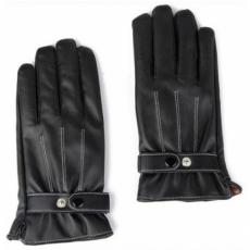 Кожаные перчатки iCasemore Leath для емкостных дисплеев (черный), фото 1