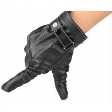 Кожаные перчатки iCasemore Leath для емкостных дисплеев (черный), фото 2