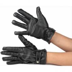 Кожаные перчатки iCasemore Leath для емкостных дисплеев (черный), фото 3