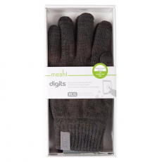 Перчатки для сенсорных устройств Moshi Digits L (темно-серый), фото 3
