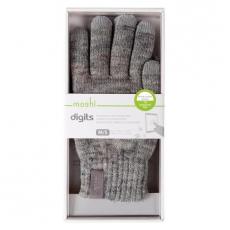 Перчатки для сенсорных устройств Moshi Digits M/S (серый), фото 3