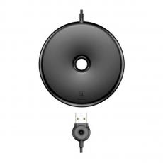 Беспроводное зарядное устройство Baseus Donut Wireless Charger, черное, фото 1