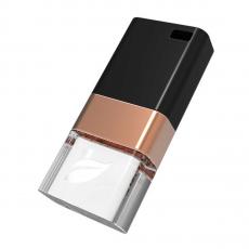 Внешний накопитель Leef Ice 3.0, USB-A (3.0), 32 ГБ, медный/чёрный, фото 1