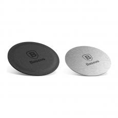 Дополнительные пластины Baseus Magnet iron Suit для держателя, серебряные, фото 1