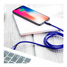 Кабель Baseus Yiven Series, с USB-C на Lightning, 1 метр, синий, фото 3
