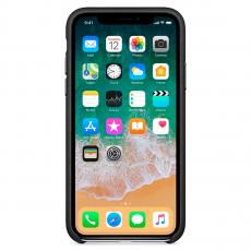 Кожаный чехол Apple для iPhone X, черный, фото 2