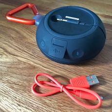 Портативная акустическая система JBL Clip 2, бирюзовый, фото 4