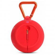 Портативная акустическая система JBL Clip 2, красная, фото 2