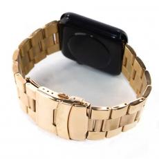 Ремешок для Apple Watch 42mm, сталь, золотой, фото 1