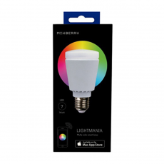 Умная лампа Mixberry LED Bluetooth smart lamp одна штука (iOS+Android) MSL7RGB127, фото 1