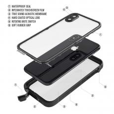 Чехол водонепроницаемый Catalyst для iPhone Х, черный, фото 3