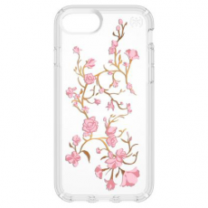 Чехол Speck Presidio Clear Golden Blossoms для iPhone 7 и 8, фото 1