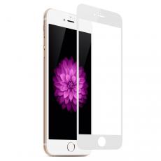 Защитное стекло Goldspin 2.5D для iPhone 8 Plus/ 7 Plus, белое-фото