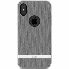 Чехол Moshi Vesta для iPhone X, серый, фото 1