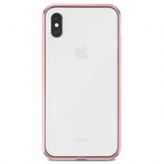 Чехол Moshi Vitros для iPhone X, розовый, фото 1