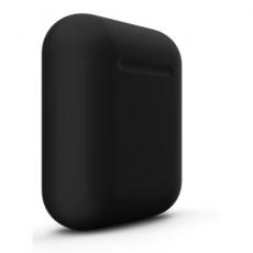 Беспроводные наушники Apple AirPods Color, черные матовые, фото 2