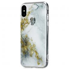 Чехол Bling My Thing для iPhone X, с кристаллами Swarovski, Tresure Alabaster, Night Skull, ipx-tr-wh-svn, фото 2