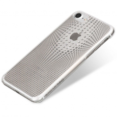 Чехол Bling My Thing для iPhone 8, Warp Deluxe, серебристый, ip8-wd-cl-cry, фото 3
