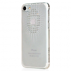 Чехол Bling My Thing для iPhone 8, Warp Deluxe, серебристый, ip8-wd-cl-cry, фото 2