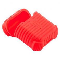 Чехол силиконовый COTEetCI для AirPods, красный, CS8106-RD, фото 1