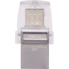 Внешний накопитель Kingston Kingston 32GB USB 3.0 DataTraveler Type-C micro  DTDUO3C/32GB, фото 1